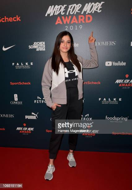 Yusra Mardini during the Made For More Award at Ziegelei 101 on February 2, 2019 in Munich, Germany.