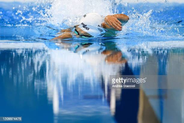 Yusra Mardini of Syria competes in the swimming women's 100m freestyle heats at the XXXI Olympic Games . Yusra Mardini did not qualify for the semi...