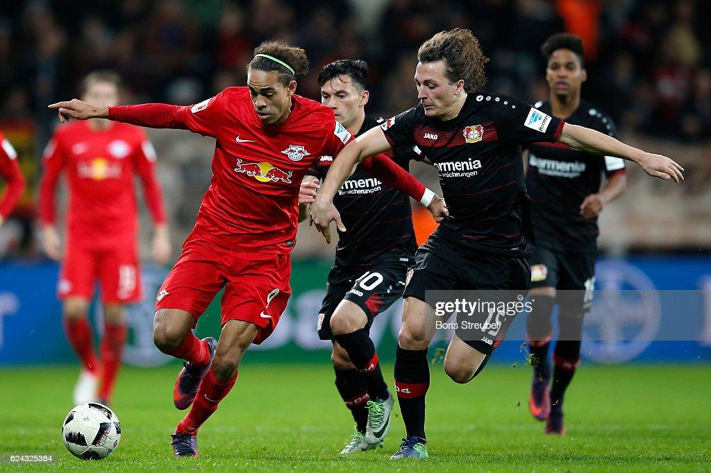Bayer 04 Leverkusen v RB Leipzig - Bundesliga : News Photo