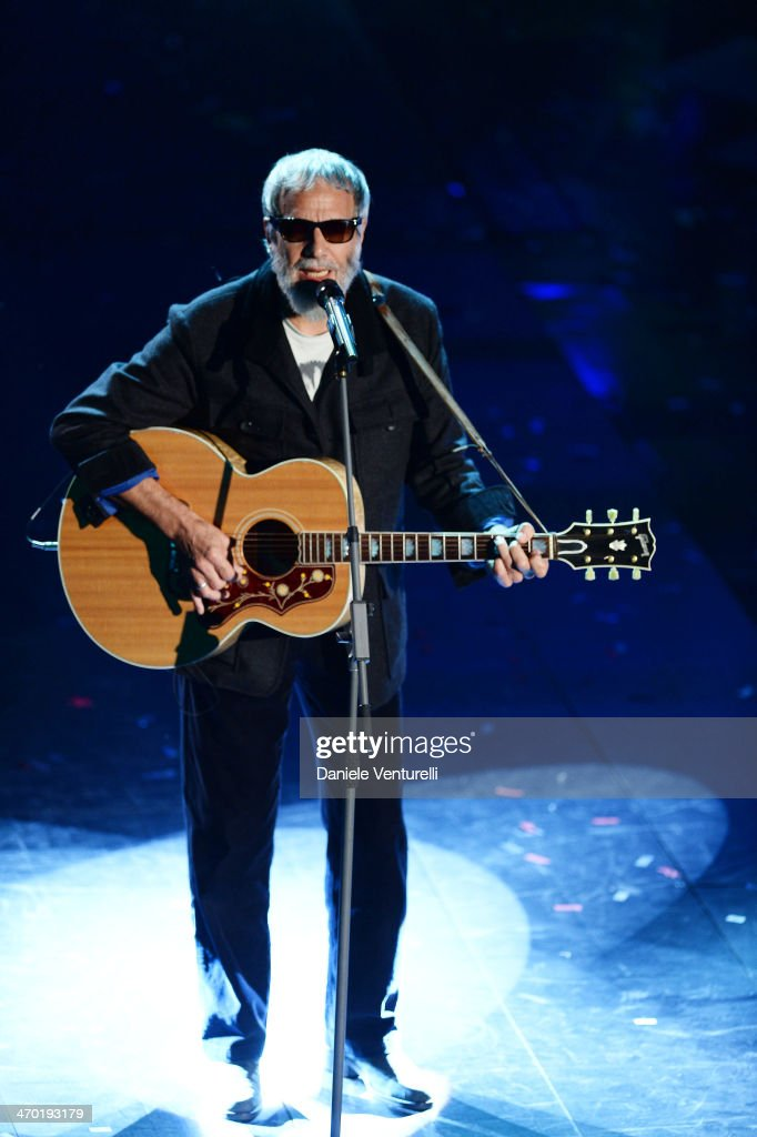 Yusuf Islam aka Cat Stevens attends the opening night of the 64th Festival di Sanremo 2014 at Teatro Ariston on February 18, 2014 in Sanremo, Italy.