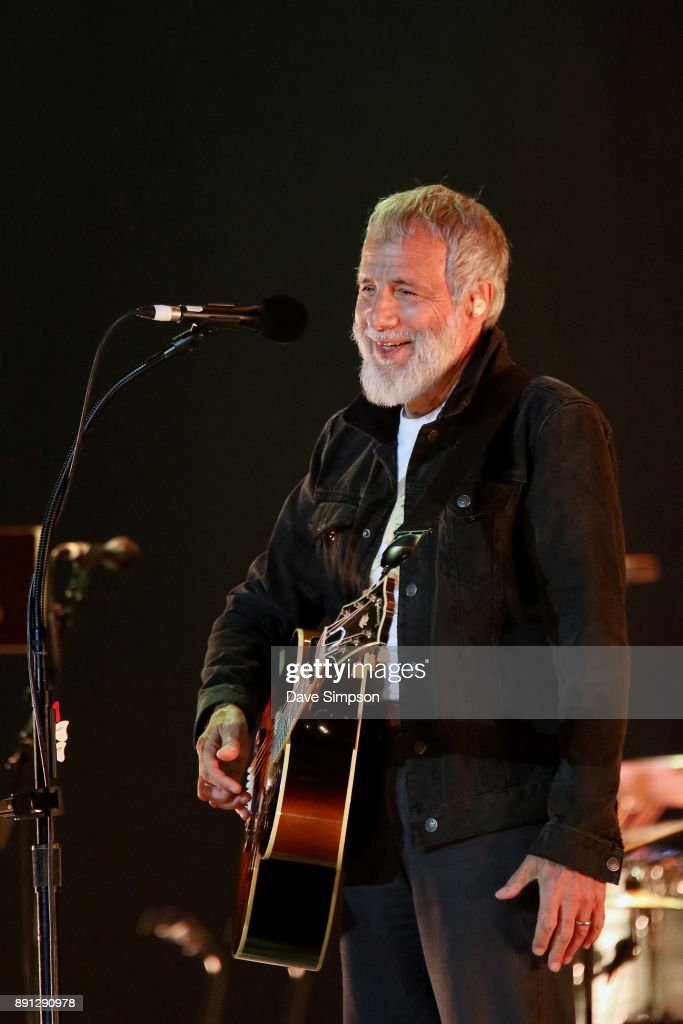 Yusuf Islam aka Cat Stevens performs during sound check at Spark Arena on December 13, 2017 in Auckland, New Zealand.