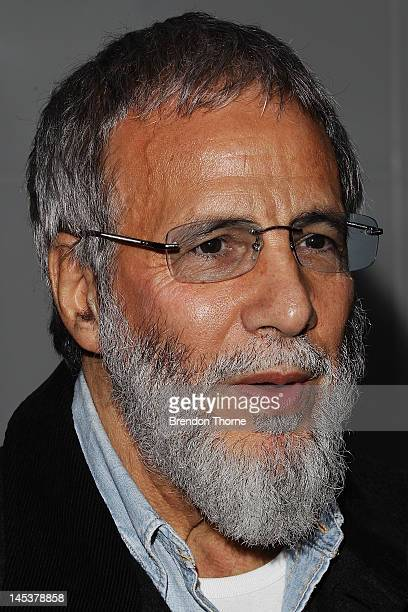 Yusuf Islam arrives at the 2012 APRA Music Awards at the Sydney Convention Exhibition Centre on May 28 2012 in Sydney Australia