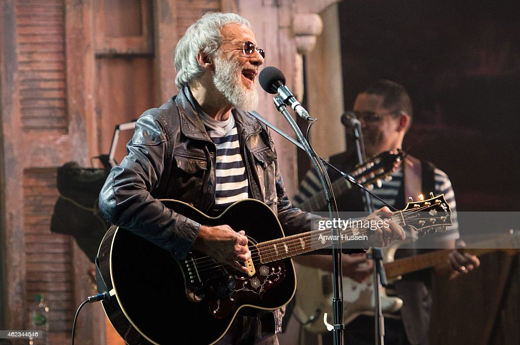 Yusuf Islam, formerly known as Cat Stevens, performs at the Hammersmith Apollo on November 05, 2014 in London, England.