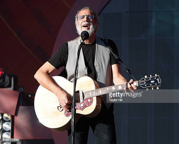 Yusuf Islam performs during the 2016 Global Citizen Festival at Central Park on September 24 2016 in New York City