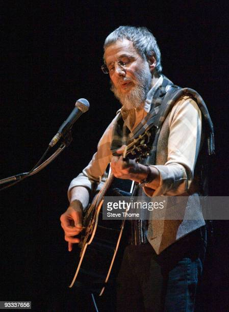 Yusuf Islam performs on stage at NIA Arena on November 23 2009 in Birmingham England