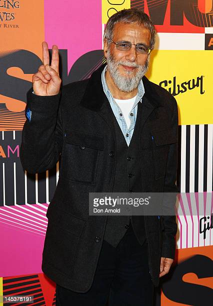 Yusuf Islam poses at the Sydney Convention Centre on May 28 2012 in Sydney Australia