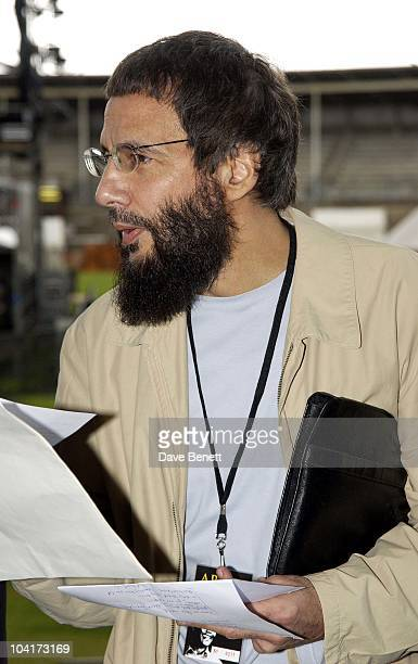 Yusuf Islam The Stars Of Rock And Roll Join Forces For Nelson Mandela's 46664 Concert In Cape Town South Africa In The Pre Concert Build Up This...