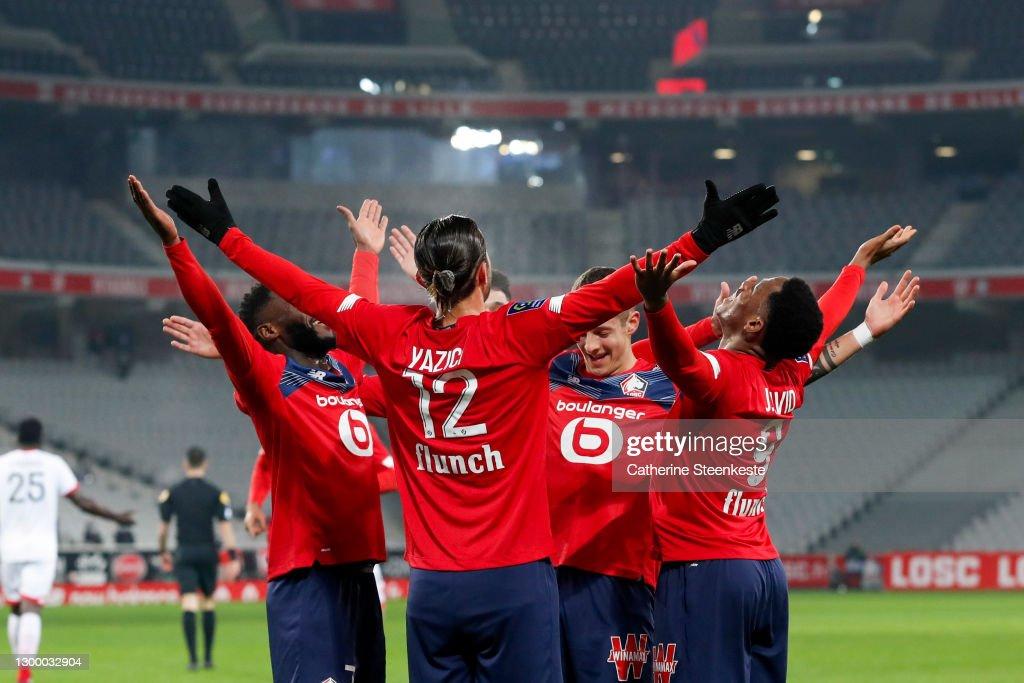 Lille OSC v Dijon FCO - Ligue 1 : ニュース写真