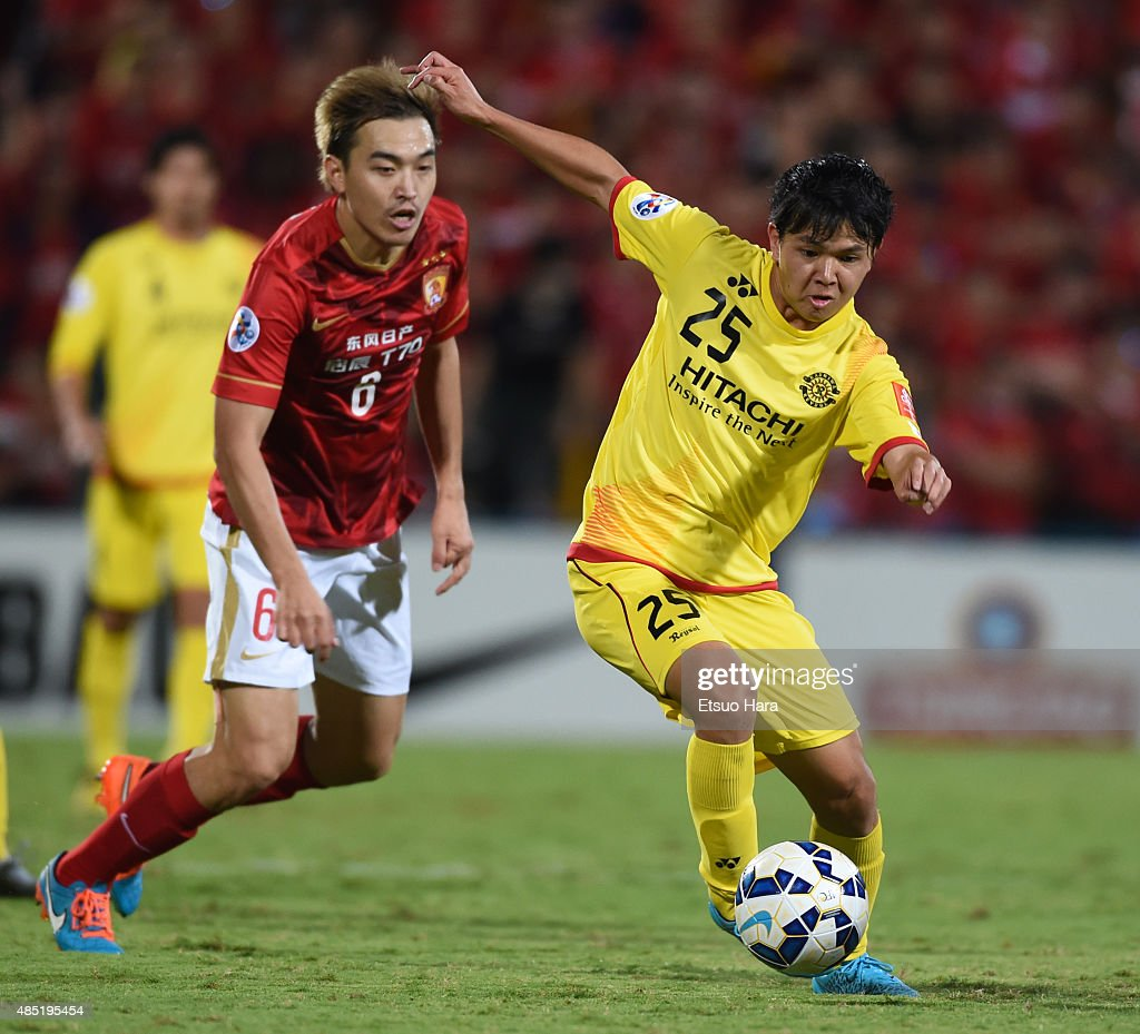 Kashiwa Reysol v Guangzhou Evergrande - AFC Champions League Quarter Final 1st Leg : News Photo