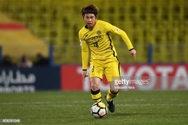Yusuke Segawa of Kashiwa Reysol in action during the AFC Champions League Group E match between Kashiwa Reysol and Kitchee at Sankyo Frontier Kashiwa...