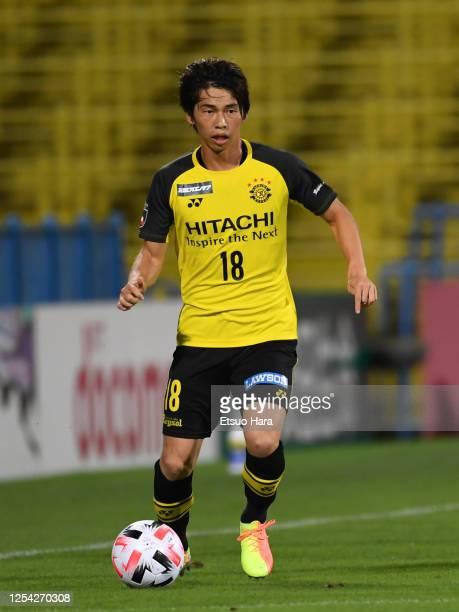 Yusuke Segawa of Kashiwa Reysol in action during the JLeague Meiji Yasuda J1 match between Kashiwa Reysol and FC Tokyo at Sankyo Frontier Kashiwa...