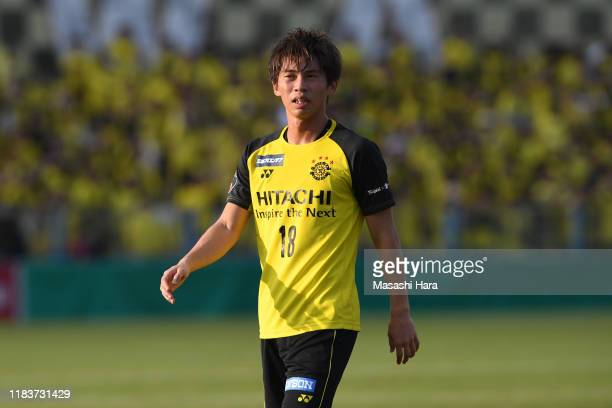 Yusuke Segawa of Kashiwa Reysol looks on during the JLeague J2 match between Kashiwa Reysol and Avispa Fukuoka at Sankyo Frontier Kashiwa Stadium on...