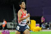 london england yusuke yamanouchi japan competes