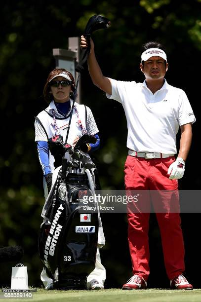 Yuta Ikeda of Japan plays his shot from the 12th tee during Round One of the DEAN DELUCA Invitational at Colonial Country Club on May 25 2017 in Fort...