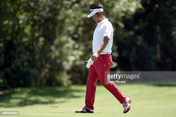 Yuta Ikeda of Japan walks down the 11th fairway during Round One of the DEAN DELUCA Invitational at Colonial Country Club on May 25 2017 in Fort...