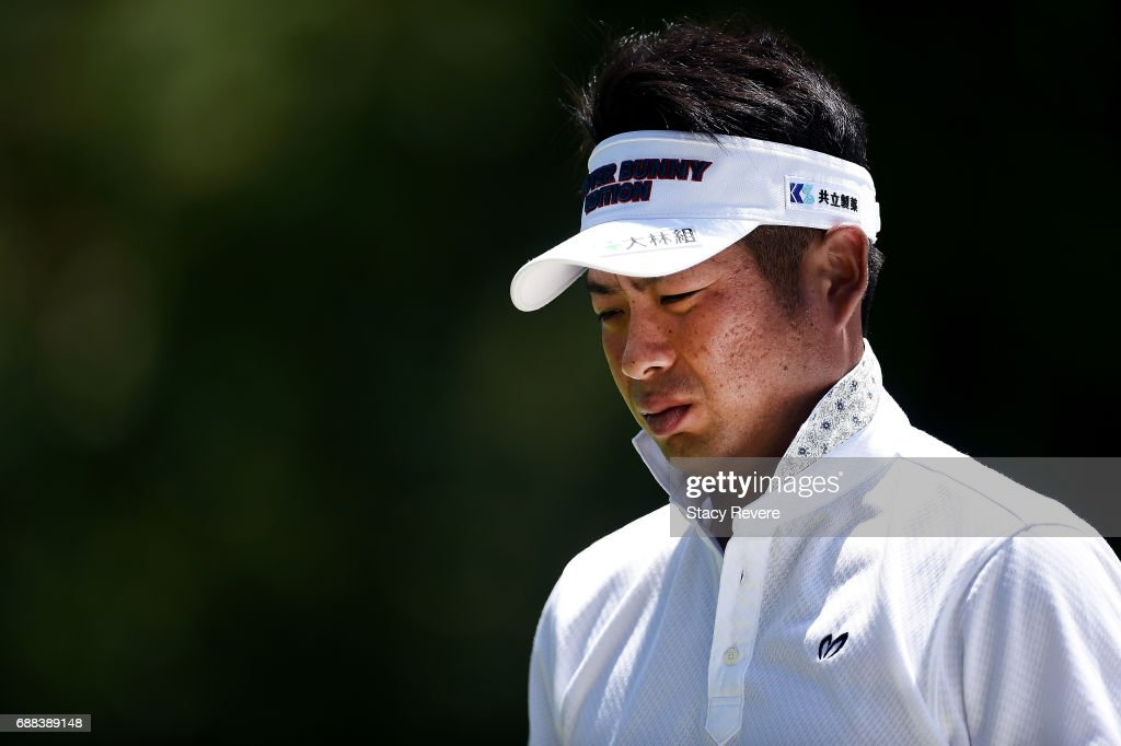 Yuta Ikeda of Japan walks off the 11th green during Round One of the DEAN & DELUCA Invitational at Colonial Country Club on May 25, 2017 in Fort Worth, Texas.