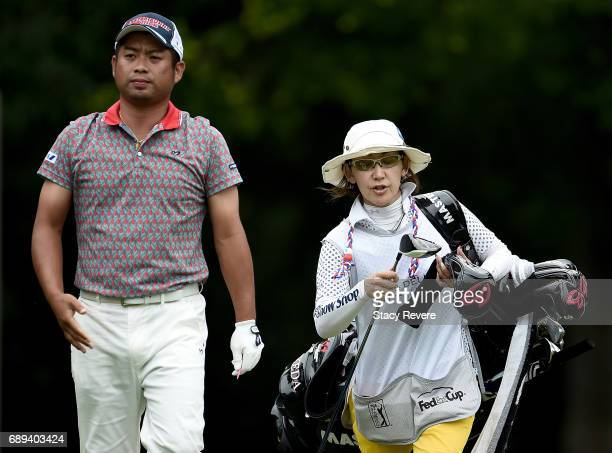 Yuta Ikeda of Japan walks off the 12th tee during the Final Round of the DEAN DELUCA Invitational on May 28 2017 in Fort Worth Texas