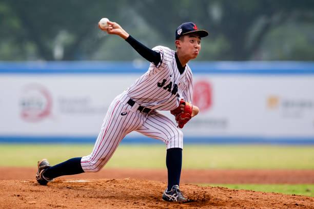 CHN: Japan v China - BFA U15 Baseball Championship: Super Round