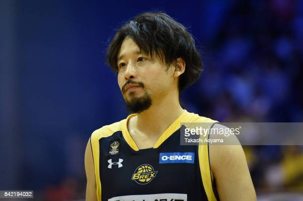 Yuta Tabuse of the Tochigi Brex looks on during the BLeague Kanto Early Cup 3rd place match between Kawasaki Brave Thunders and Tochigi Brex at...