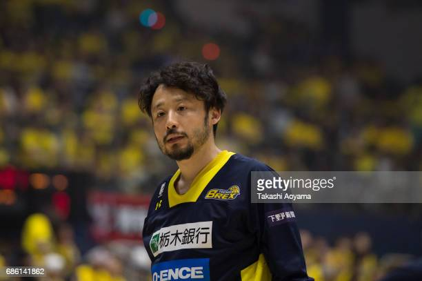 Yuta Tabuse of the Tochigi Brex looks on prior to the B League 2017 semi final match between Tochigi Brex and SeaHorses Mikawa at Utsunomiya...