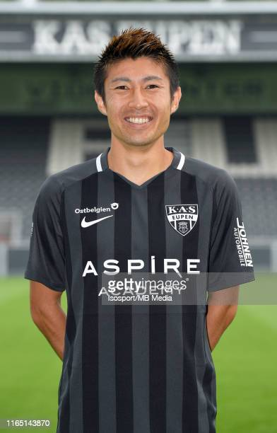 Yuta Toyokawa forward of Eupen during the 2019 2020 season photo shoot of Kas Eupen on July 17 2019 in Eupen Belgium