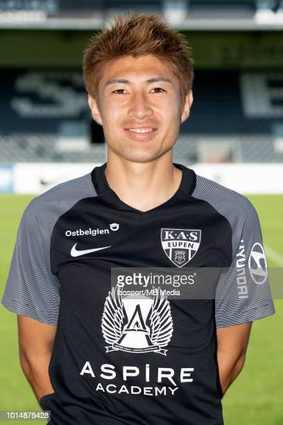 Yuta Toyokawa pictured during the 2018 2019 season photo shoot of Kas Eupen on July 18 2018 in Eupen Belgium