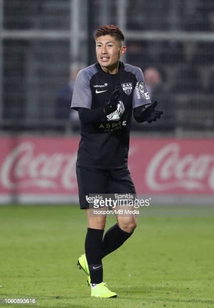Yuta Toyokawa pictured during the Jupiler Pro League match between KAS Eupen and RSC Anderlecht at Kehrwegstadion on October 28 2018 in Eupen Belgium