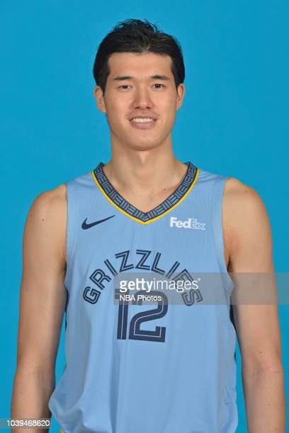 Yuta Watanabe of the Memphis Grizzlies poses for a head shot during media day on September 24 2018 at FedExForum in Memphis Tennessee NOTE TO USER...