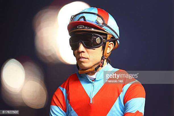 Yutaka Take rides One And Only in the Dubai Sheema Classic Presented By Longines as part of the Dubai World Cup at Meydan Racecourse on March 26 2016...