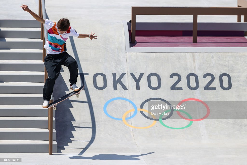 Skateboarding - Olympics: Day 2 : Nachrichtenfoto