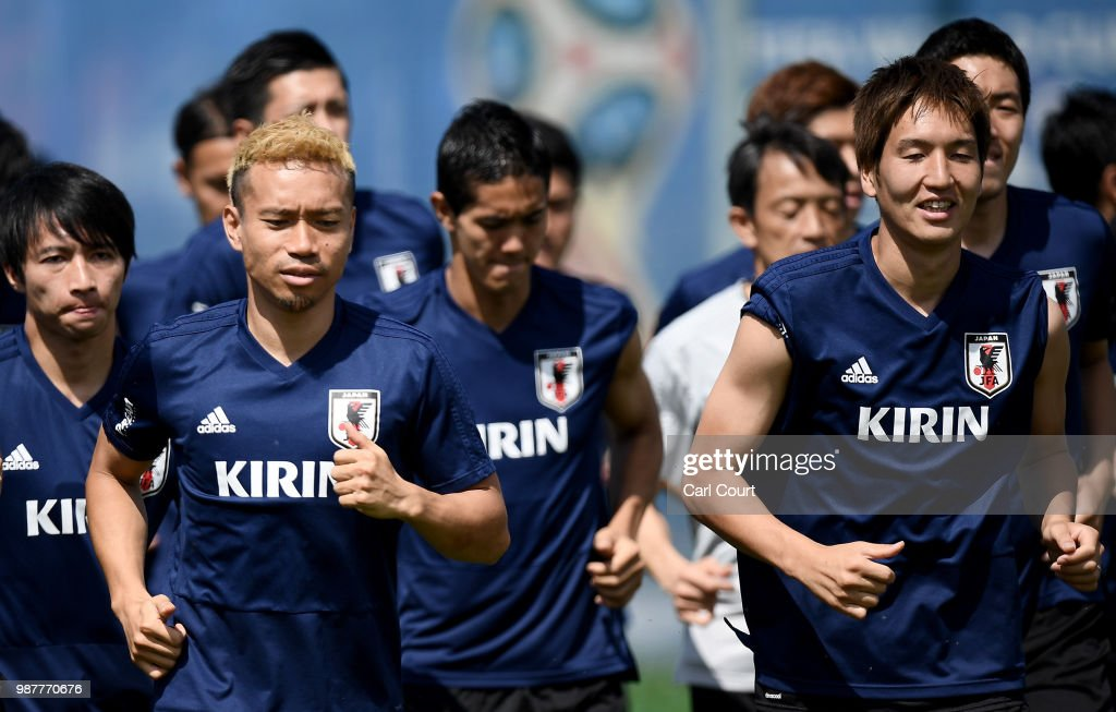 Japan Training Session : ニュース写真