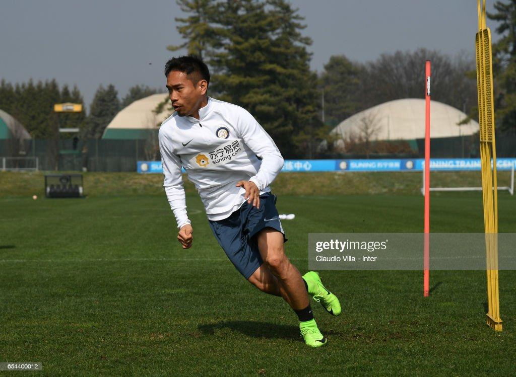 FC Internazionale Training Session : Foto di attualità