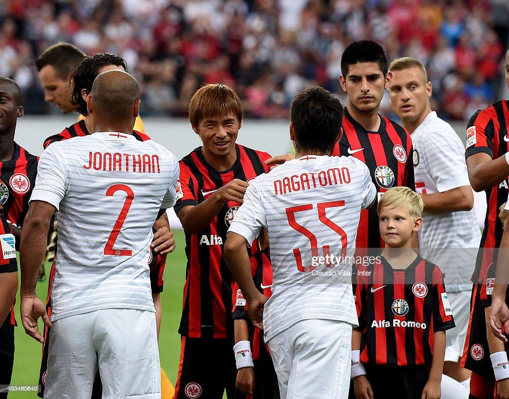 Eintracht Frankfurt v FC Internazionale - Preseason Friendly : News Photo