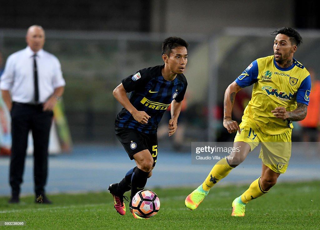 AC ChievoVerona v FC Internazionale - Serie A : News Photo