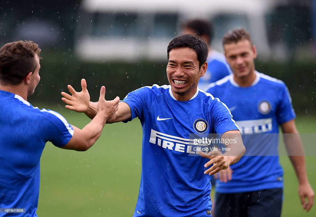 FC Internazionale Training Camp In China - Day Five : News Photo