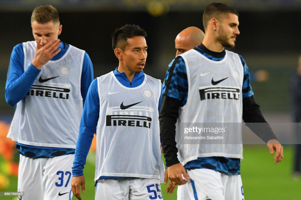 Hellas Verona FC v FC Internazionale - Serie A : News Photo