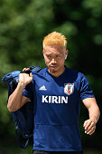 seefeld austria yuto nagatomo japan arrives