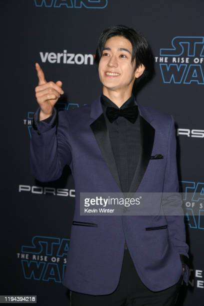 Yuto Nakajima attends the Premiere of Disney's Star Wars The Rise Of Skywalker on December 16 2019 in Hollywood California