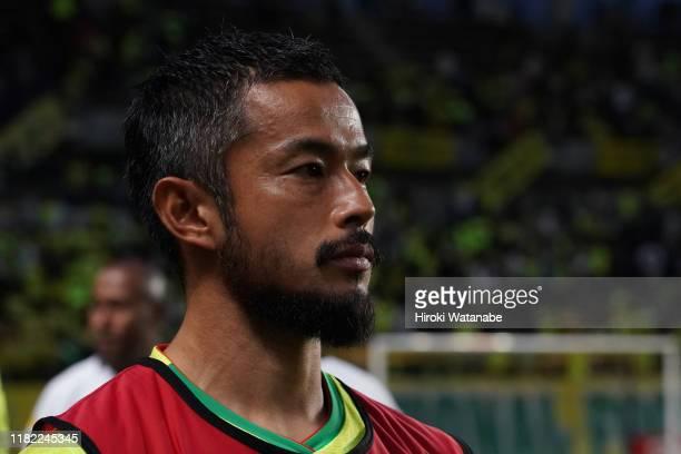 Yuto Sato of JEF Unaited Chiba looks on after the J.League J2 match between JEF United Chiba and Kashiwa Reysol at Fujida Denshi Arena on October 20,...