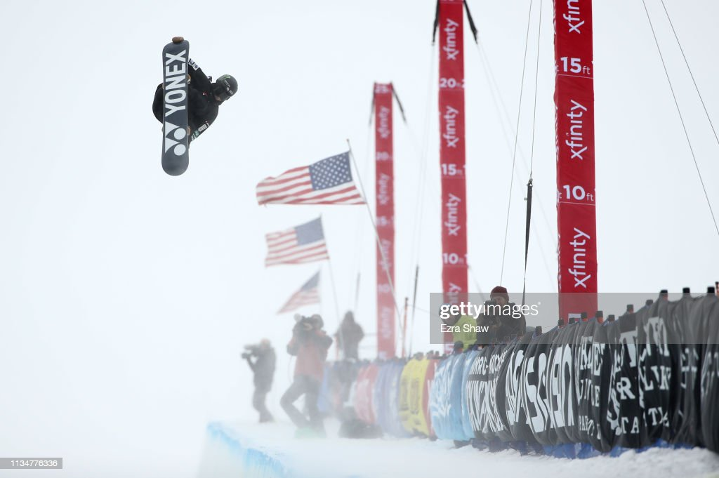 CA: 2019 U.S. Grand Prix at Mammoth Mountain - Snowboard Halfpipe Finals