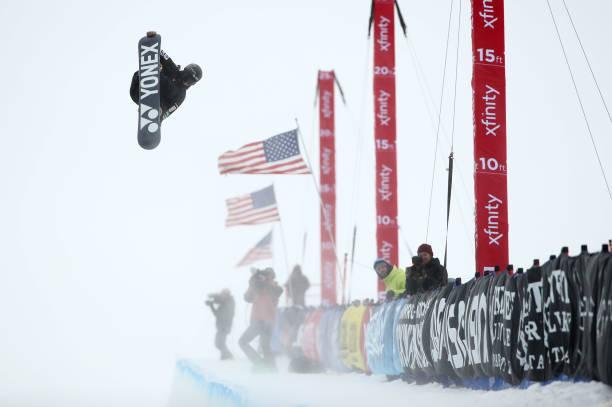 CA: 2019 U.S. Grand Prix at Mammoth Mountain - Snowboard Halfpipe Finals