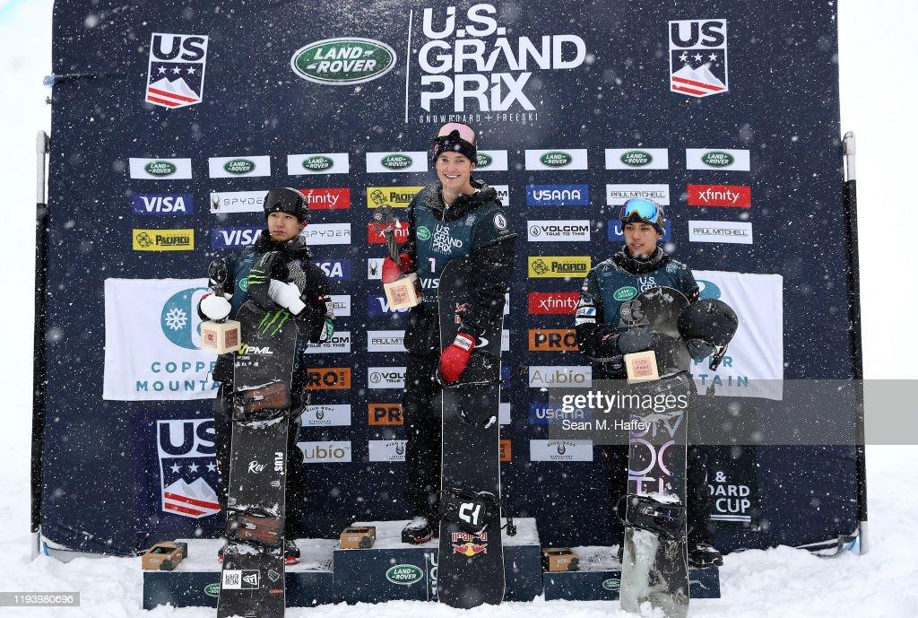 2019 U.S. Grand Prix at Copper Mountain - Snowboard Halfpipe Finals : News Photo
