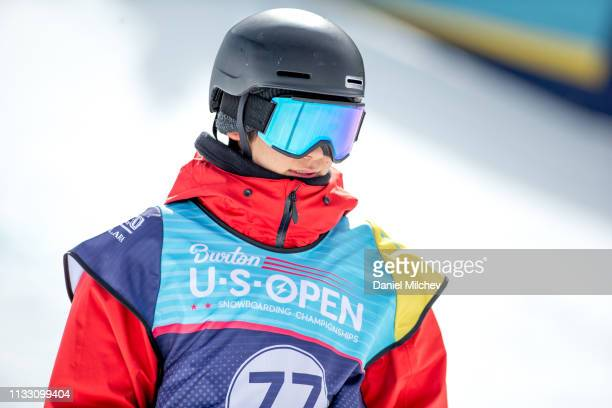 Yuto Totsuka of Japan smiles during Men's Halfpipe finals during the Burton US Open Championships at Golden Peak on February 28 2019 in Vail Colorado