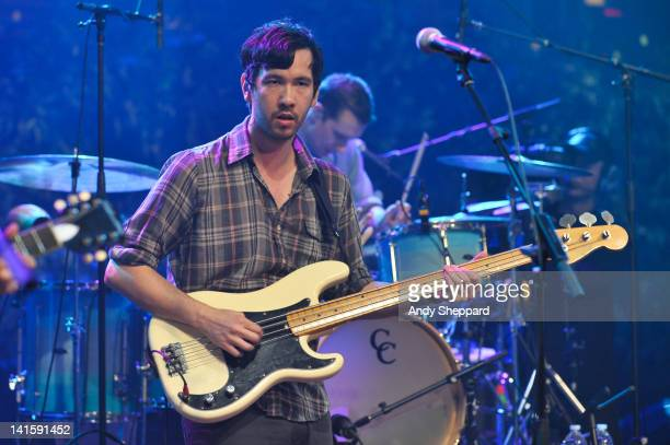 Yuuki Matthews of The Shins performs on stage for KLRUTV Austin City Limits Live at The Moody Theatre on March 18 2012 in Austin Texas