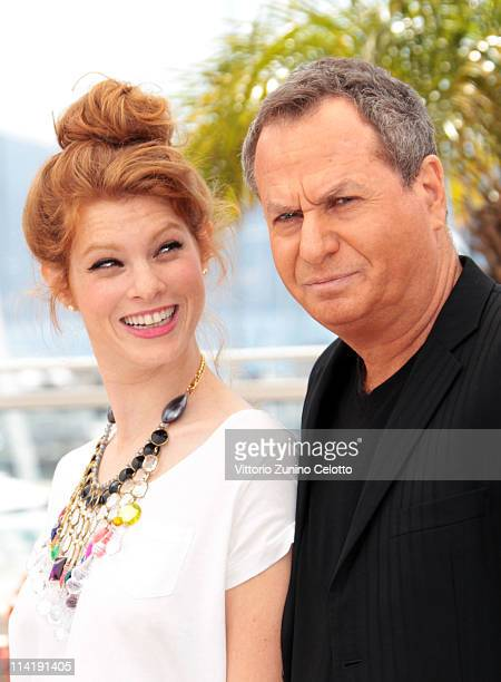 Yuval Scharf and Shlomo Bar Aba attend the Hearat Skhulayim photocall at the Palais des Festivals during the 64th Cannes Film Festival on May 15 2011...