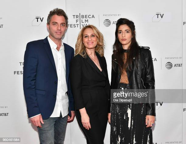 Yuval Shafferman Danna Stern and Dana Idisis attend the screeing of 'On the Spectrum' at Tribeca TV Indie Pilots during the 2018 Tribeca Film...