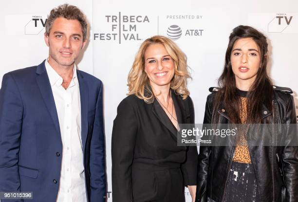 Yuval Shafferman Danna Stern and Dana Idisis attends the screening of 'On the Spectrum' at Tribeca TV Indie Pilots during the 2018 Tribeca Film...