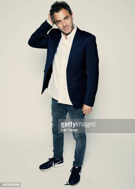 Yuval Shafferman of the film On The Spectrum poses for a portrait during the 2018 Tribeca Film Festival at Spring Studio on April 24 2018 in New York...