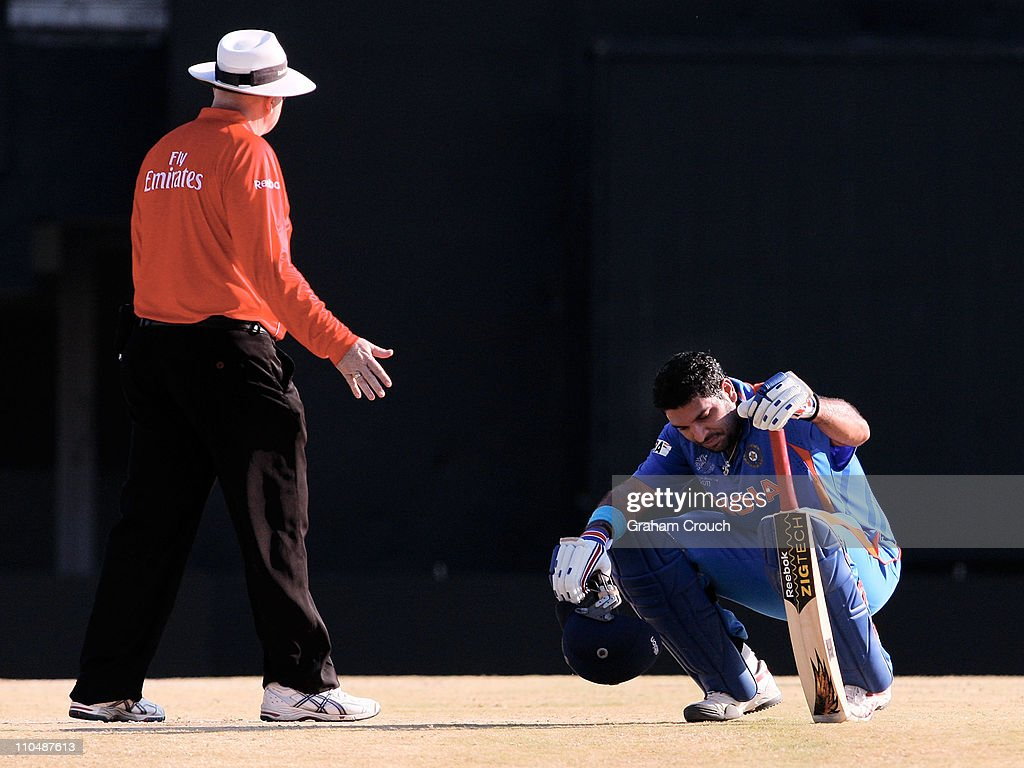 India v West Indies: Group B - 2011 ICC World Cup : News Photo