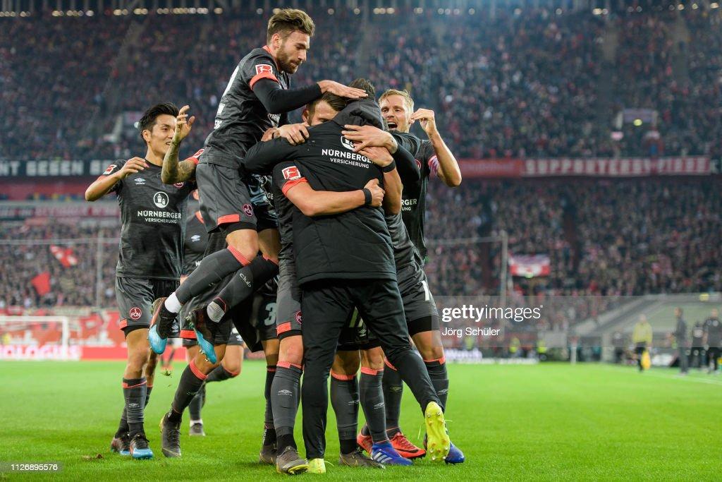 Fortuna Duesseldorf v 1. FC Nuernberg - Bundesliga : ニュース写真
